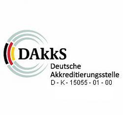 europascal ist DAkkS akkreditiert für die Messgröße Druck bis 5000 bar